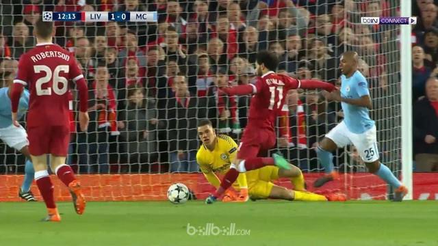 Berita video gol-gol yang tercipta saat Liverpool mengalahkan Manchester City pada leg pertama perempat final Liga Champions 2017-2018. This video presented by BallBall.