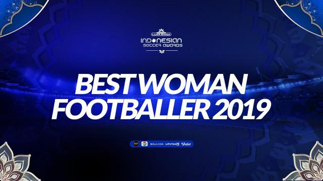 Berita video Reva Oktaviani meraih penghargaan kategori Best Woman Footballer di Indonesian Soccer Awards 2019.