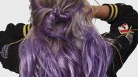 Ilustrasi twinkle hair, tren rambut dari Korea Selatan. (dok. Instagram @vivid4hairz/https://www.instagram.com/p/BU2lQM5l-la/Asnida Riani)