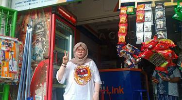Titik Lestari, Agen BRILink cabang Tangerang, Banten. Foto: Istimewa
