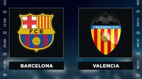 Liga Spanyol: Barcelona vs Valencia. (Bola.com/Dody Iryawan)
