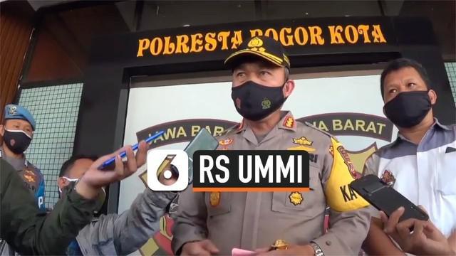 Satreskrim Polresta Kota Bogor memeriksa 13 saksi terkait kasus dugaan menghalangi penanganan penyakit menular yang menimpa Rumah Sakit UMMI. Rencananya penyelidikan ditargetkan naik status sidik dengan penetapan tersangka pada senin depan.