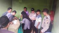 Seorang kakek di Kebumen ditemukan meninggal di kasur yang terbakar akibat putung rokok. (Foto: Liputan6.com/Polres Kebumen/Muhamad Ridlo)
