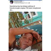 Status bucin (Sumber: Instagram/ngumpulreceh)