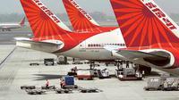 Ilustrasi Air India yang diserang lebah. (AP)