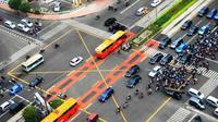 Yellow Box Junction adalah kebijakan undang-undang lalu lintas yang mulai diterapkan di beberapa daerah rawan macet.