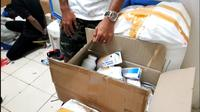 Unit Narkoba Polsek Kembangan bersama Satuan Reserse Narkoba Polres Metro Jakarta Barat menemukan gudang penyimpanan narkoba di sebuah Apartemen di kawasan Srengseng, Kembangan Jakarta Barat.