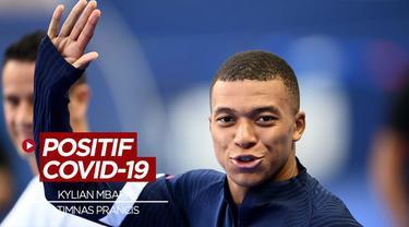 Berita Video Kylian Mbappe Tambah Daftar Nama Pemain Prancis yang Terinfeksi COVID-19