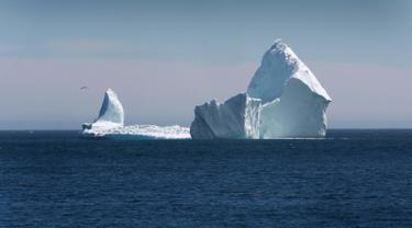 Bongkahan Es di Kanada