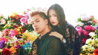 Cincin pertunangan Taeyang dan Min Hyorin dibuat oleh Chanel. Mereka menggunakan Chanel Coco Crush Ring Quilted Motif dengan emas putih 18 karat. (Foto: instagram.com/bigbangteamturkey)