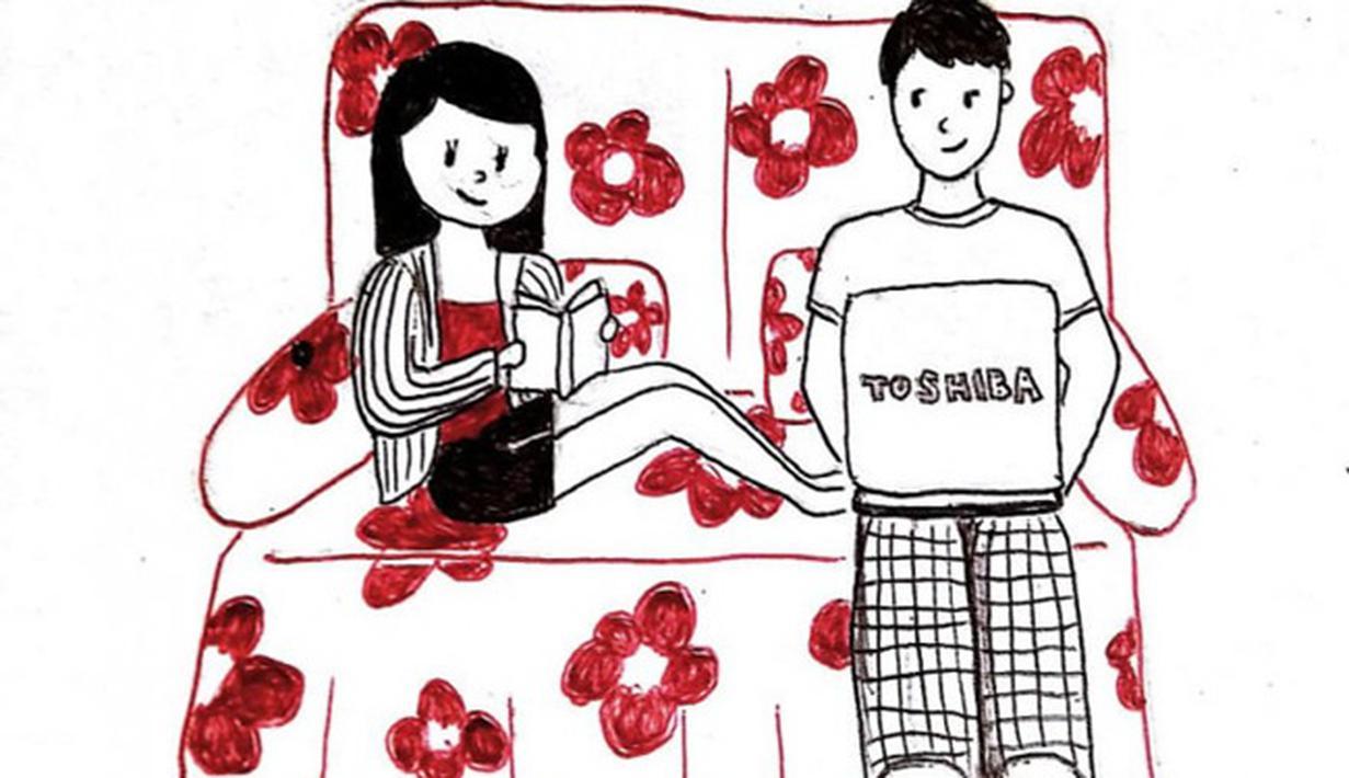 8200 Gambar Kartun Romantis Ldr HD Terbaik Gambar Romantis