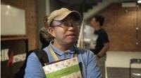 Pimpinan Pusaka Foundation, Sudarto ditangkap polisi. (Liputan6.com/ Novia Harlina)
