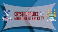 Crystal Palace vs Manchester City (Liputan6.com/Ari Wicaksono)