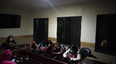 Razia PSK saat PPKM level 3 di Kabupaten Bekasi