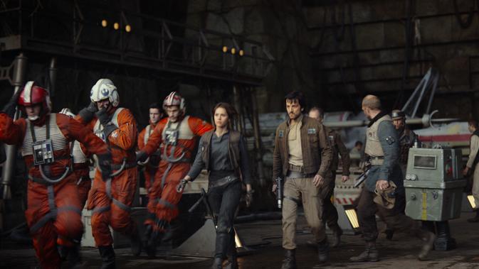Rogue One Cast Princess Leia