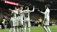 1. Real Madrid – Hengkangnya Ronaldo membuat dampak yang buruk untuk Real Madrid.  Sebab Madrid tengah mengalami musim yang buruk. Produktifitasnya menurun jika hanya mengandalkan Benzema dan Bale semata. (AFP/Oscar Del Pozo)