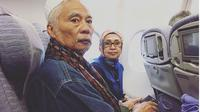Ayahanda Enda Ungu meninggal dunia. (Instagram @mr_enda_ungu)