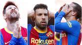Para pemain Barcelona gagal memanfaatkan kesempatan untuk memimpin klasemen Liga Spanyol usai gagal menaklukkan Atletico Madrid di Camp Nou. Berikut ragam ekspresi kekecewaan Lionel Messi dkk.