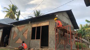Program Bantuan Stimulan Perumahan Swadaya (BSPS) atau bedah rumah di Gorontalo