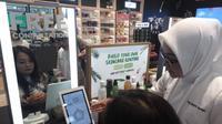 The Body Shop Plaza Ambarrukmo menghadirkan inovasi alat pendeteksi masalah kulit yang bisa diakses setiap saat oleh pengunjung(Www.sulawesita.com)