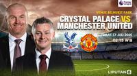 Crystal Palace Vs Manchester United (Liputan6.com/Triyasni)