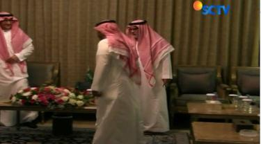 Sejumlah atlet dari Arab Saudi menyempatkan diri untuk beramah tamah dengan duta besar Arab Saudi di Jakarta.