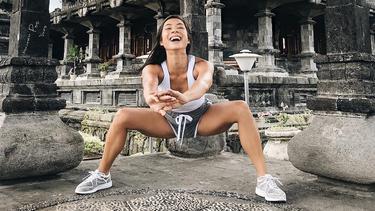 [Bintang] 8 Foto Artis Indonesia Saat Sedang Olahraga
