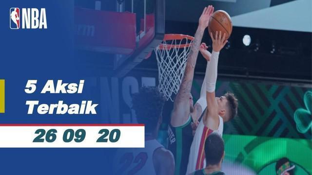Berita Video Aksi Terbaik NBA 26 September 2020, Melihat Slam Dunk Jaylen Brown Saat Boston Celtics Kalahkan Miami Heat