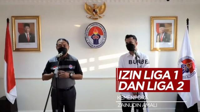 Berita Video Menpora Zainudin Amali Yakin Kapolri Akan Berikan Izin Kompetisi Liga 1 dan Liga 2