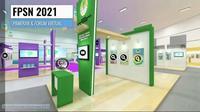 Tampilan Festival Peduli Sampah Nasional 2021 yang digelar secara virtual hingga Desember 2021. (Tangkapan Layar Zoom)