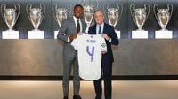 Bek anyar Real Madrid, David Alaba. (dok. Real Madrid)