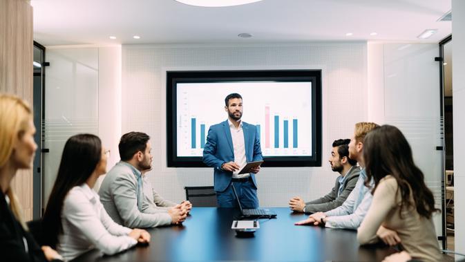 Rahasia Percaya Diri dan Sukses Presentasi Bisnis