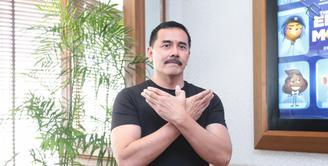 Aktor senior Fendy Pradana kembali dipercaya untuk versi layar kaca, Saur Sepuh The Series. Sebelumnya, ia terlibat dalam film layar lebar berperan sebagai Brama Kumbara. (Adrian Putra/Bintang.com)