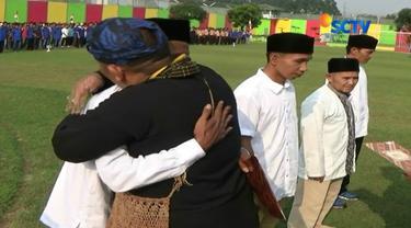 Usai mengikuti upacara[HUT ke-72 RI di lapas, mereka pun bergegas meninggalkan lapas untuk kembali ke keluarga masing-masing.