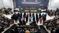 Pelantikan anggota baru DPRD Kota Malang (Liputan6.com