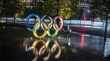 Warna-warni Cahaya Olimpiade 2021 Membalut Tokyo