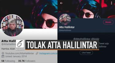 YouTuber Atta Halilintar bikin heboh jagad Twitter karena kembali bermain Twitter. Namun tak disangka warga Twitter ramai-ramai menolak keras.
