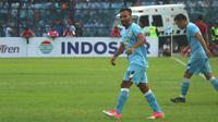 Pemain Persela Lamongan, Diego Assis. (Bola.com/Aditya Wany)