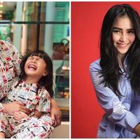Denada dan Shakira Aurum-Ayu Ting Ting. (Instagram/denadaindonesia Bambang E. Ros/Bintang.com)