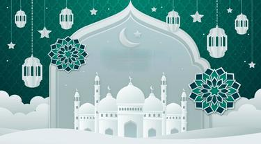 Banner Infografis Panduan Ibadah Ramadan dan Idul Fitri 1442 H/2021. (Liputan6.com/Trieyasni)