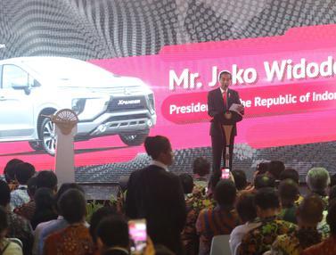 Jokowi Lepas Ekspor Perdana Mitsubishi Xpander