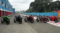 All new Kawasaki Ninja 250. (Septian/Liputan6.com)