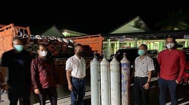 Tabung Oksigen untuk RSU Kota Tarakan.