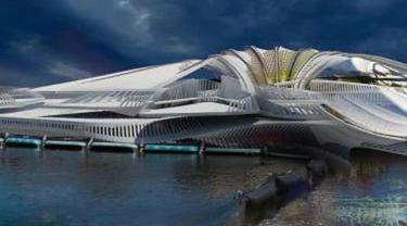 Arsitek Inggris Berencana Bangun Resor Terapung Mewah dari Plastik Laut