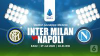 INTER MILAN VS NAPOLI (Liputan6.com/Abdillah)