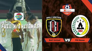 Berita video highlights Shopee Liga 1 2019 antara Bali United melawan PSS Sleman yang berakhir dengan skor 3-1, Senin (22/7/2019).