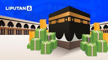 Banner Infografis Cek Fakta Hoaks Gerogoti Dana Haji