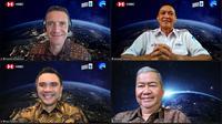 HSBC ikut mendanai proyek Satelit multifungsi Indonesia Satria 1.