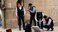 Pria Bersenjata Tembaki Gereja Koptik Mesir, 9 Orang Tewas (SAMER ABDULLAH / AFP)