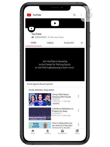 Ilustrasi YouTube, Aplikasi YouTube